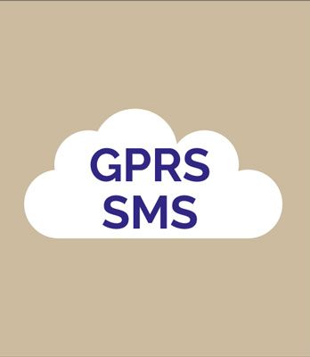 Data feeds streamed via GPRS and SMS networks
