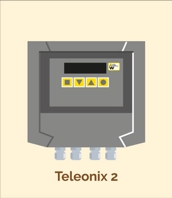 Load cell amplifier(s) connected to Teleonix 2
